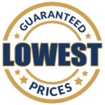 mission plumbing heating and cooling guaranteed lowest prices badge
